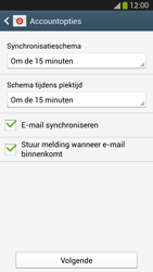 Samsung Galaxy S4 VE (I9515) - E-mail - Account instellen (POP3 zonder SMTP-verificatie) - Stap 16