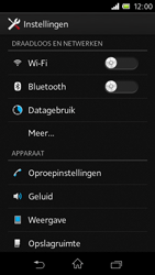 Sony C1905 Xperia M - Bluetooth - headset, carkit verbinding - Stap 4