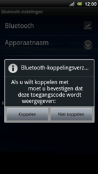 Sony Ericsson Xperia Neo V - Bluetooth - koppelen met ander apparaat - Stap 11