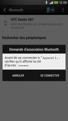HTC Desire 601 - Bluetooth - connexion Bluetooth - Étape 9