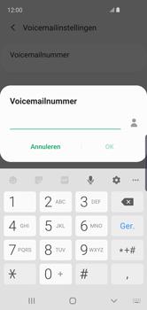 Samsung galaxy-s10e-dual-sim-sm-g970f - Voicemail - Handmatig instellen - Stap 11