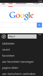 Nokia Lumia 1320 - Internet - hoe te internetten - Stap 7