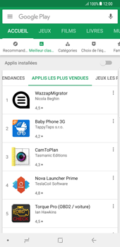 Samsung Galaxy S8 Plus - Android Oreo - Applications - Télécharger des applications - Étape 10