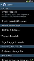 Samsung Galaxy S4 Mini - Sécuriser votre mobile - Personnaliser le code PIN de votre carte SIM - Étape 6