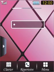 Samsung S7070 Diva - E-mail - Configuration manuelle - Étape 1