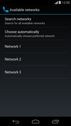 Motorola Moto G - Network - Usage across the border - Step 8