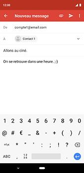Google Pixel 3XL - E-mail - Envoi d