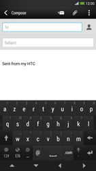 HTC One Max - Email - Sending an email message - Step 5