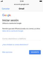 Apple iPhone 6 - iOS 11 - E-mail - Configurar Gmail - Paso 6