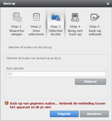 Samsung B7610 Omnia Qwerty - Software - Update installeren via PC - Stap 9