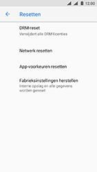 Nokia 3 - Android Oreo - Toestel - Fabrieksinstellingen terugzetten - Stap 7