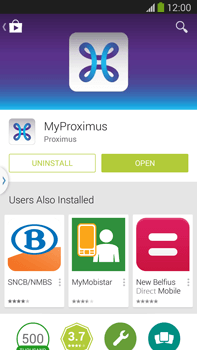 Samsung Galaxy S5 G900F - Applications - MyProximus - Step 9