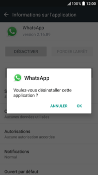 HTC Desire 825 - Applications - Supprimer une application - Étape 7