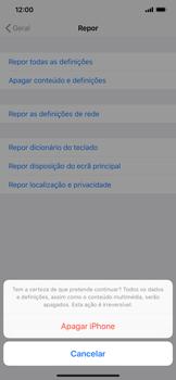 Apple iPhone XR - Repor definições - Como repor definições de fábrica do telemóvel -  8