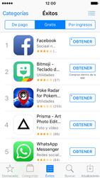 Apple iPhone SE iOS 10 - Aplicaciones - Tienda de aplicaciones - Paso 5