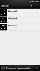 HTC One - Photos, vidéos, musique - Ecouter de la musique - Étape 7