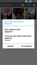 LG Optimus F6 - Photos, vidéos, musique - Envoyer une photo via Bluetooth - Étape 11