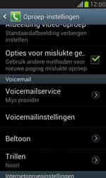 Samsung I8190 Galaxy S III Mini - Voicemail - Handmatig instellen - Stap 4