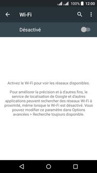 Acer Liquid Z630 - Wifi - configuration manuelle - Étape 4