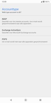 Sony Xperia XZ3 - E-mail - handmatig instellen - Stap 10