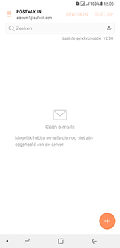 Samsung Galaxy A8 Plus - E-mail - handmatig instellen (outlook) - Stap 12