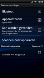 Sony Ericsson Xperia Play - Bluetooth - Headset, carkit verbinding - Stap 7
