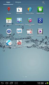 Samsung P3100 Galaxy Tab 2 7-0 - Applications - Downloading applications - Step 3