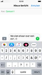 Apple iPhone SE - iOS 12 - MMS - afbeeldingen verzenden - Stap 7