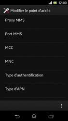 Sony C1905 Xperia M - Internet - Configuration manuelle - Étape 16