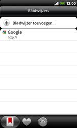HTC A8181 Desire - Internet - Hoe te internetten - Stap 8