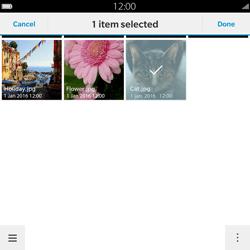 BlackBerry Passport - Mms - Sending a picture message - Step 12