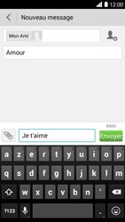 Bouygues Telecom Ultym 5 - Contact, Appels, SMS/MMS - Envoyer un MMS - Étape 11