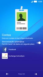 Sony Xperia M4 Aqua - Primeiros passos - Como ativar seu aparelho - Etapa 9