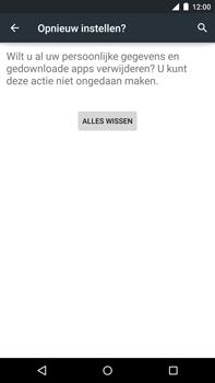 Motorola Google Nexus 6 - Toestel reset - terugzetten naar fabrieksinstellingen - Stap 7