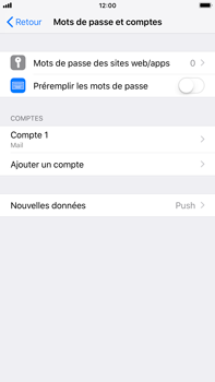 Apple iPhone 7 Plus - iOS 12 - E-mail - Configuration manuelle - Étape 15