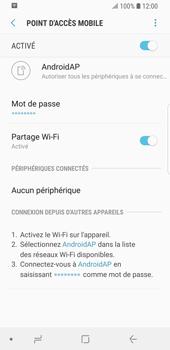 Samsung Galaxy S9 - Internet et connexion - Partager votre connexion en Wi-Fi - Étape 13