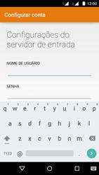 Motorola Moto G (2ª Geração) - Email - Como configurar seu celular para receber e enviar e-mails - Etapa 10