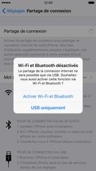 Apple iPhone 7 - Internet et connexion - Utiliser le mode modem par USB - Étape 8