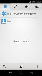 Sony Xpéria E3 - Contact, Appels, SMS/MMS - Ajouter un contact - Étape 5