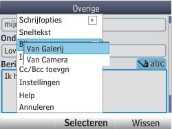 Nokia Asha 302 - E-mail - e-mail versturen - Stap 12