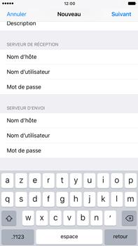 Apple Apple iPhone 6s Plus - iOS 10 - E-mail - Configuration manuelle - Étape 14