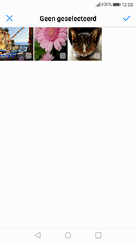 Huawei Mate 9 - Mms - Hoe te versturen - Stap 15