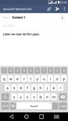 LG K8 - E-mail - Hoe te versturen - Stap 9