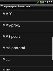 HTC A3333 Wildfire - MMS - handmatig instellen - Stap 9