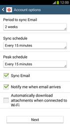 Samsung I9195 Galaxy S IV Mini LTE - E-mail - Manual configuration (yahoo) - Step 8