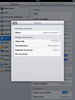 Apple iPad 2 - E-mail - Configuration manuelle - Étape 14