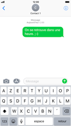 Apple iPhone 7 iOS 11 - Contact, Appels, SMS/MMS - Envoyer un SMS - Étape 9