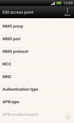 HTC T328e Desire X - Internet - Manual configuration - Step 12