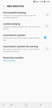 Samsung Galaxy A7 (2018) - MMS - probleem met ontvangen - Stap 10
