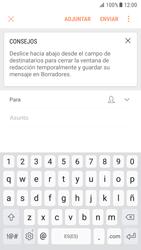 Samsung Galaxy S7 - Android Nougat - E-mail - Escribir y enviar un correo electrónico - Paso 6
